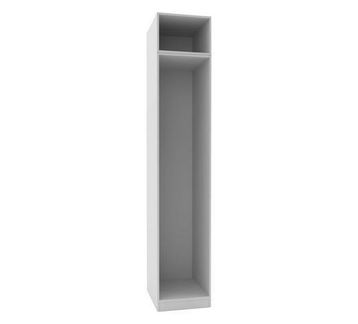 KLEIDERSCHRANKKORPUS - Weiß, MODERN, Holzwerkstoff (45,6/242,2/56,5cm) - Hom`in