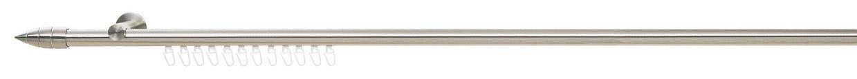 KARNIŠA - boje oplemenjenog čelika, Konvencionalno, metal (240cm) - Homeware
