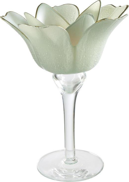TEELICHTHALTER - Hellgrün, Trend, Glas (14/19cm) - Ambia Home