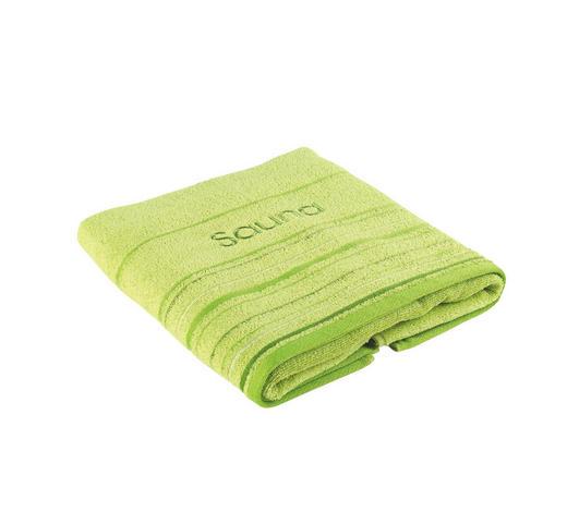 SAUNOVÁ OSUŠKA - zelená, Konvenční, textil (70/200cm) - Esposa