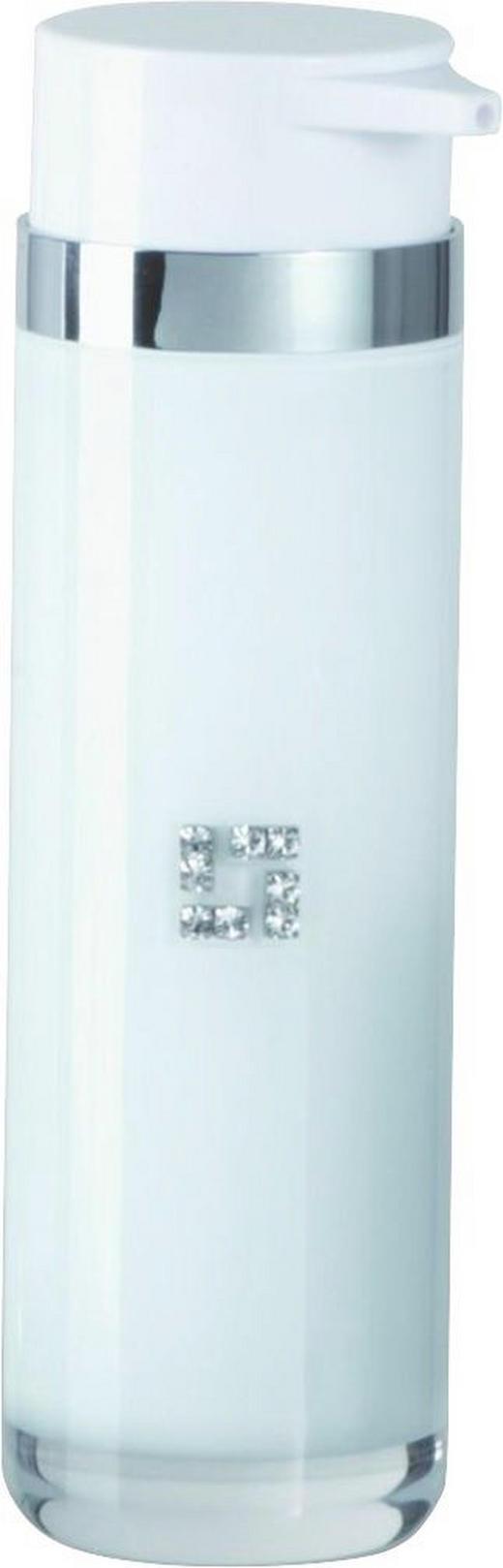 SEIFENSPENDER Weiß - Weiß, Basics, Kunststoff (5,5/18,5cm)