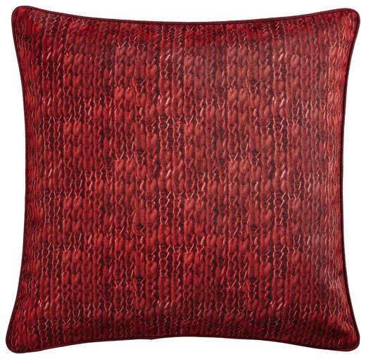 KISSENHÜLLE Rot 50/50 cm - Rot, KONVENTIONELL, Textil (50/50cm) - X-Mas