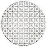 SPEISETELLER Keramik Porzellan  - Schwarz/Weiß, Trend, Keramik (26,5cm) - Novel