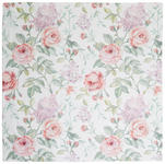 TISCHDECKE 85/85 cm   - Rosa/Grün, Trend, Textil (85/85cm) - Esposa