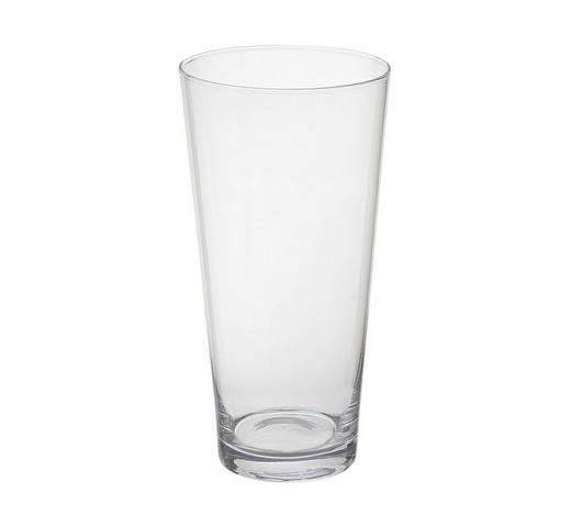 VASE 25 cm - Klar, Basics, Glas (12,5/25cm) - Ambia Home