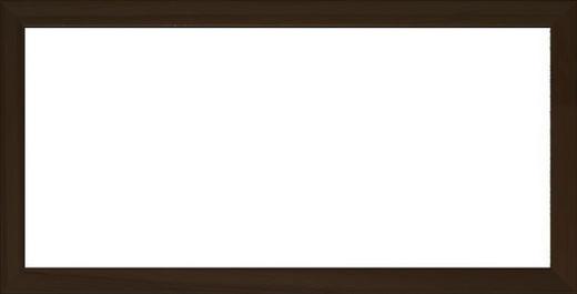 RÁM NA OBRAZY - černá, Basics, dřevo/sklo (53/26/3cm)