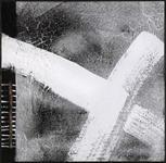 FUßMATTE 115/115 cm Abstraktes Grau, Weiß - Weiß/Grau, Basics, Kunststoff/Textil (115/115cm) - Esposa