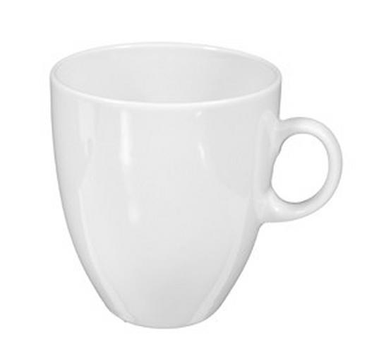 KAFFEEBECHER - Weiß, Basics, Keramik (0.35l) - Seltmann Weiden