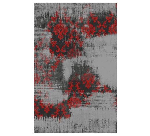 VINTAGE-TEPPICH - Rot/Grau, Trend, Textil (200/300cm) - Novel