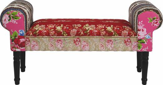 SITZBANK Multicolor - Multicolor/Schwarz, Design, Holz/Textil (100/54/30cm) - Kare-Design
