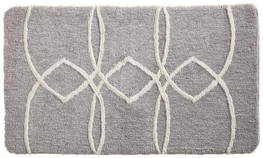 BADEMATTE  Silberfarben  70/120 cm - Silberfarben, Design, Textil (70/120cm) - Esposa