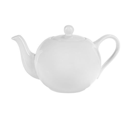 TEEKANNE 1 l - Weiß, Basics, Keramik (1l) - Ritzenhoff Breker