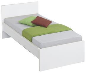 Sängram - vit, Design, träbaserade material (90/200cm) - Low Price