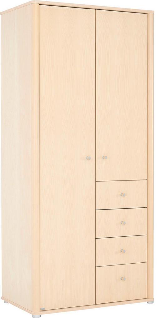 Kleiderschrank Birkenfurnier kleiderschrank in furniert birke birkefarben kaufen xxxlutz
