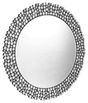 SPEGEL - silver, Design, glas/träbaserade material (80/80/1,9cm) - Xora