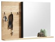 SPIEGEL 97/62/12 cm  - Eichefarben, Natur, Glas/Holz (97/62/12cm) - Carryhome