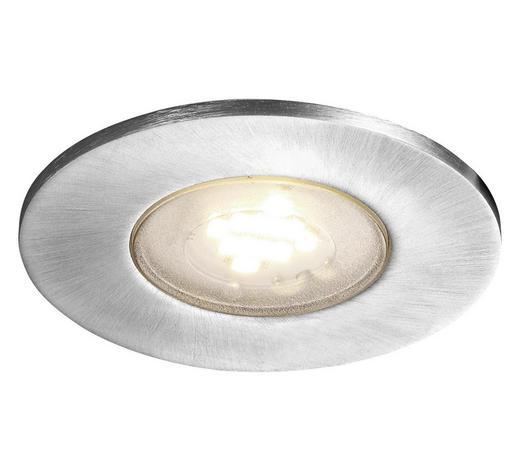 LED-STRAHLER - Alufarben, Design, Metall (8,5/5,5cm)