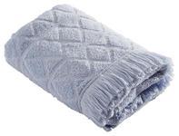 DUSCHTUCH 70/130 cm - Blau, Design, Textil (70/130cm) - Esposa