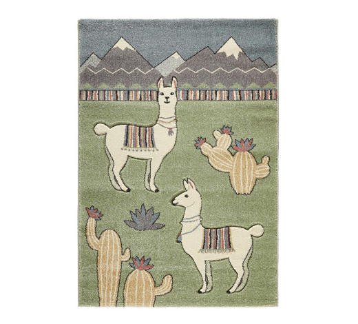 KINDERTEPPICH  120/170 cm  Multicolor   - Multicolor, Trend, Naturmaterialien/Textil (120/170cm) - Ben'n'jen