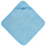 Brisača s kapuco modra - modra, Basics, tekstil (80/80cm) - My Baby Lou