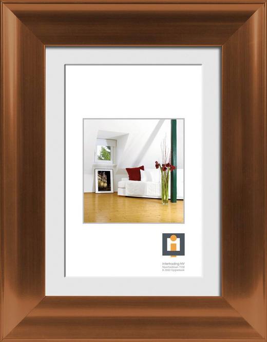 BILDERRAHMEN  Bronzefarben - Bronzefarben, Basics, Glas/Kunststoff (45/55/1,4cm)