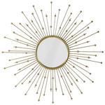 WANDSPIEGEL Goldfarben  - Goldfarben, Glas/Metall (81cm) - Ambia Home