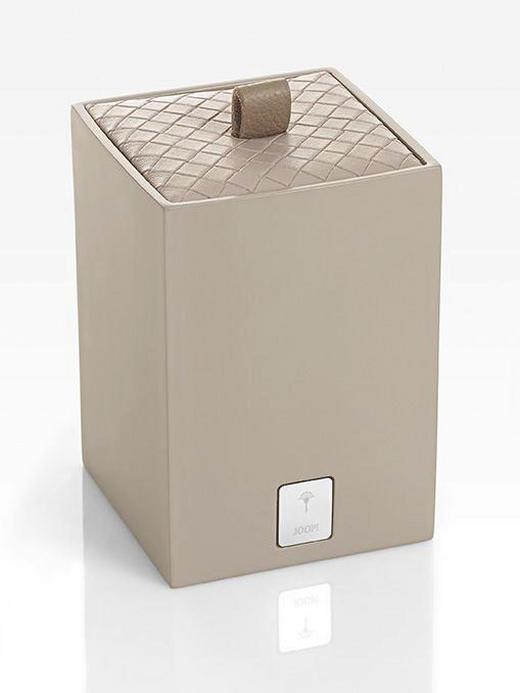 BOX MIT DECKEL - Beige, Design, Kunststoff (7,5/11/7,5cm) - Joop!
