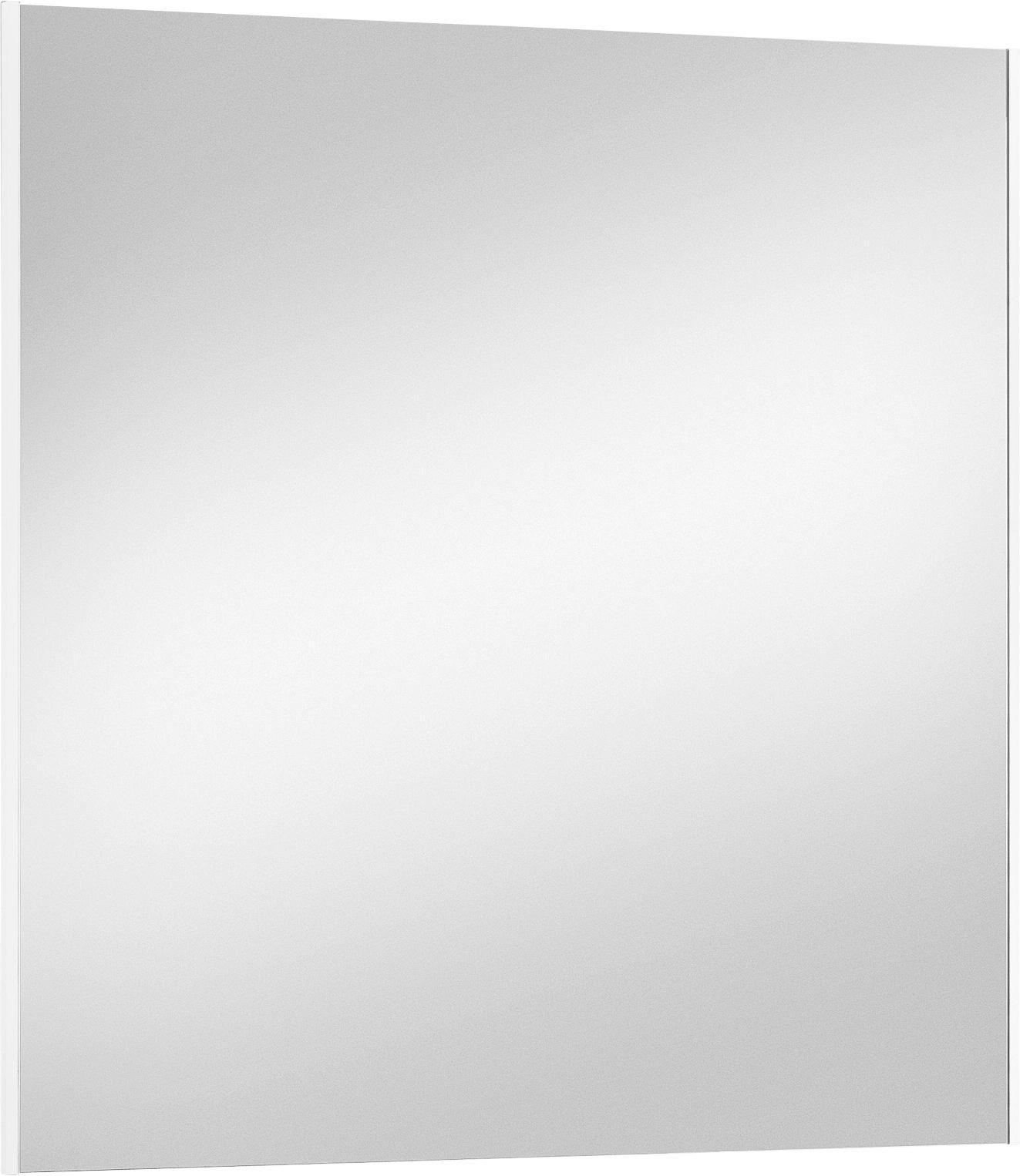 SPIEGEL Weiß - Weiß, Design, Glas/Holzwerkstoff (82/86cm)