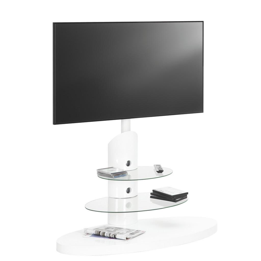 Tv-Rack In Weiß