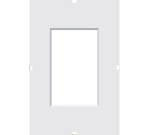KLIPOVÝ RÁM, 24/18/1 cm, čiré - čiré, Basics, sklo (24/18/1cm) - Boxxx