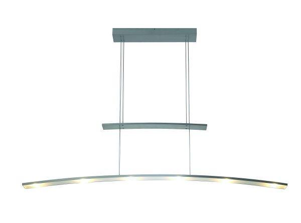HÄNGELEUCHTE - Alufarben, LIFESTYLE, Metall (155/18/10cm)