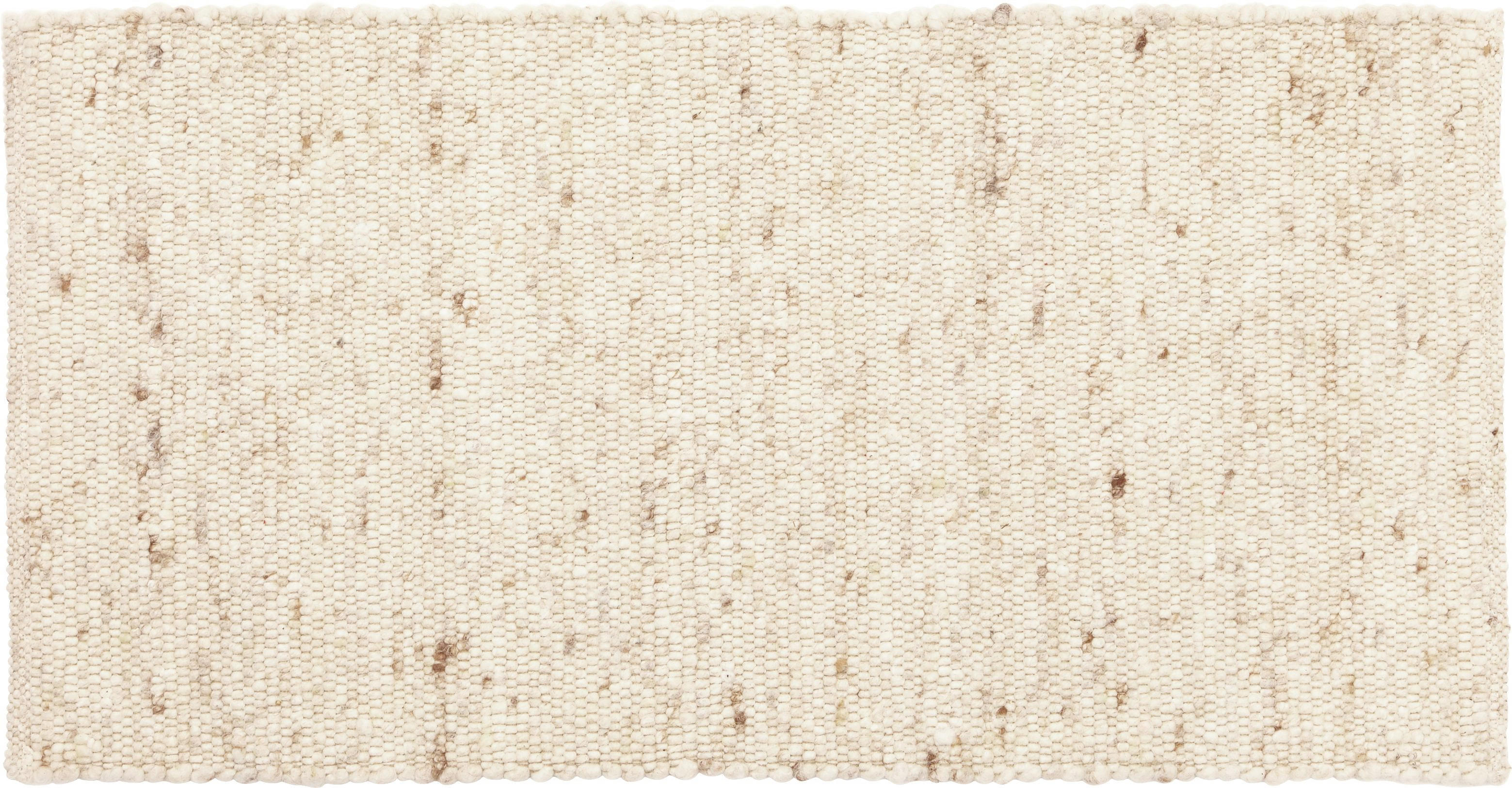 HANDWEBTEPPICH 90/160 cm - Creme, LIFESTYLE, Textil (90/160cm) - LINEA NATURA