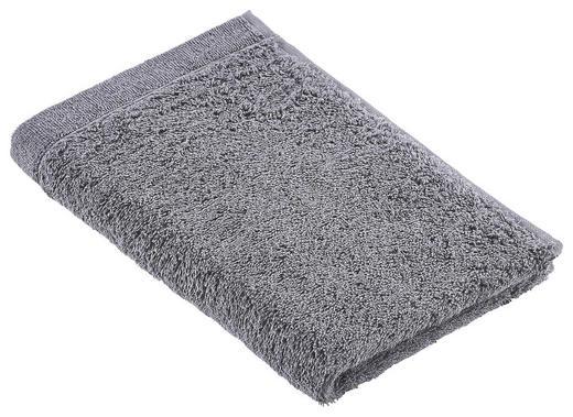 GÄSTETUCH Platinfarben 30/50 cm - Platinfarben, Design, Textil (30/50cm) - Vossen