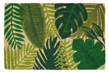 FUßMATTE 40/60 cm Anthrazit, Braun, Hellgrau  - Anthrazit/Hellgrau, Design, Textil (40/60cm) - Esposa