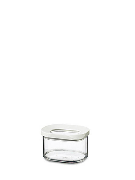 VORRATSDOSE 0,175 L - Transparent/Weiß, Basics, Kunststoff (0.175l) - MEPAL ROSTI
