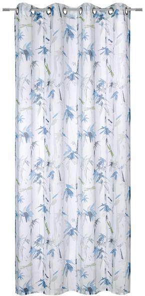 ÖLJETTLÄNGD - turkos/grå, Klassisk, textil (135/245cm) - Esposa
