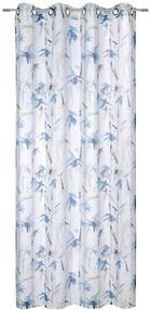 ZÁVĚS HOTOVÝ - šedá/tyrkysová, Konvenční, textil (135/245cm) - ESPOSA