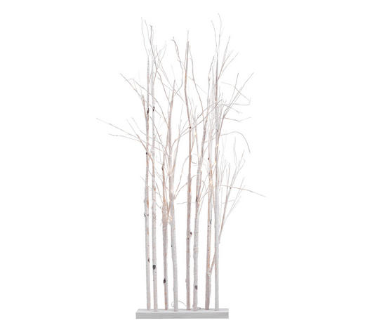 LED-DEKOLEUCHTE - Weiß, Basics, Holzwerkstoff (70/20/180cm)