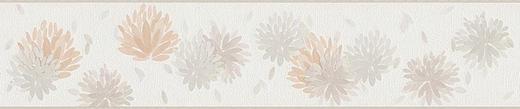 BORDÜRE - Beige/Creme, Design, Textil (13/500cm)