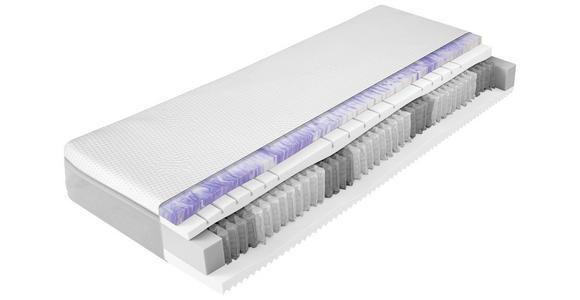 TASCHENFEDERKERNMATRATZE 80/200 cm  - Weiß, Basics, Textil (80/200cm) - Dieter Knoll