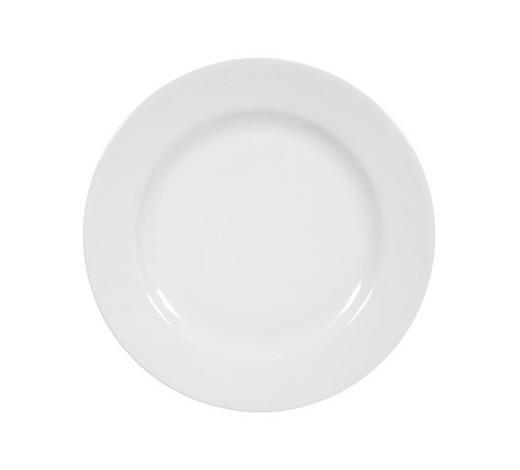 FRÜHSTÜCKSTELLER - Weiß, Basics, Keramik (20cm) - Seltmann Weiden