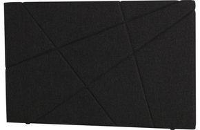 HUVUDGAVEL - antracit, Klassisk, trä/textil (180/115/8cm) - Curem
