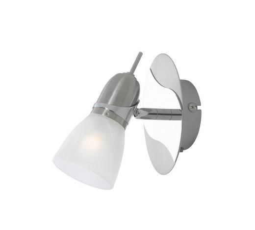 STRAHLER - Nickelfarben, KONVENTIONELL, Glas/Metall (19cm) - Boxxx