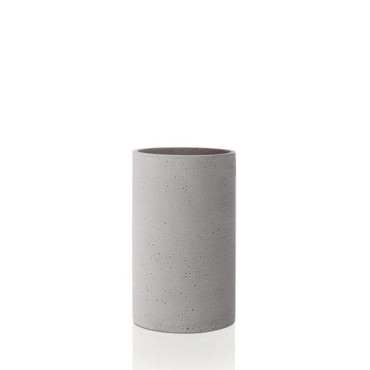VASE 20,0 cm - Hellgrau, Basics, Stein (20cm) - Blomus