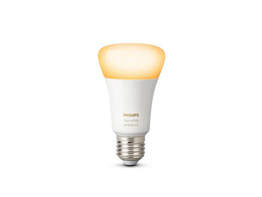 LEUCHTMITT. HUE WHITE AMBIANCE  E27 9,5 W - Weiß, Design, Kunststoff (6,2/11,0/6,2cm) - Philips