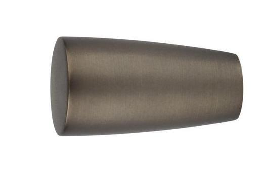 ENDSTÜCK - Bronzefarben, Basics, Metall (7,9/4,3cm) - Homeware