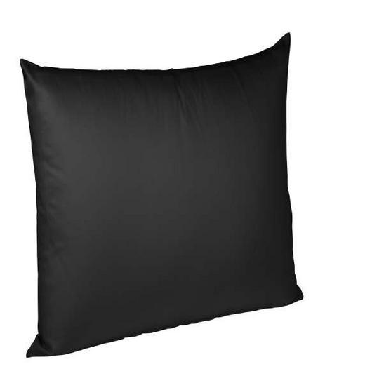 KISSENHÜLLE Schwarz 80/80 cm - Schwarz, Basics, Textil (80/80cm) - Fleuresse