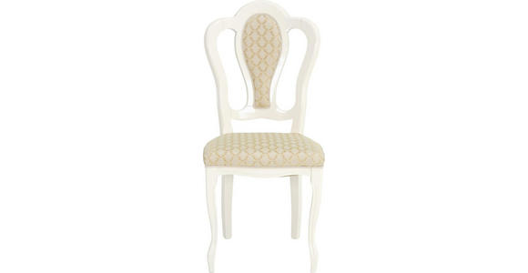 STUHL in Textil, Holzwerkstoff Beige  - Beige, LIFESTYLE, Holzwerkstoff/Textil (48/105/54cm) - Cantus