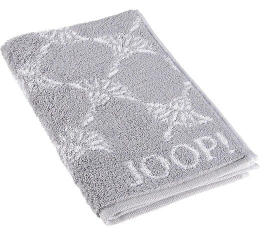 GÄSTETUCH Silberfarben 30/50 cm  - Silberfarben, Basics, Textil (30/50cm) - Joop!