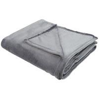 KUSCHELDECKE 150/200 cm - Dunkelgrau, Basics, Textil (150/200cm) - NOVEL